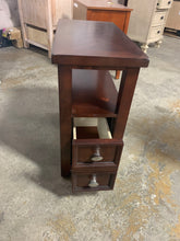 Load image into Gallery viewer, Darius Solid Wood End Table w/ Storage