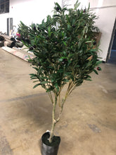 "Load image into Gallery viewer, 42"" Faux Olive Plant 2252"