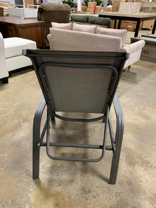 Outdoor Patio Chaise Lounge, Gray