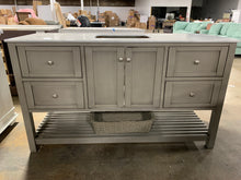 "Load image into Gallery viewer, Chertsey 60"" Single Bathroom Vanity As-Is"