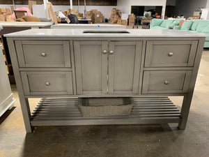 "Chertsey 60"" Single Bathroom Vanity As-Is"