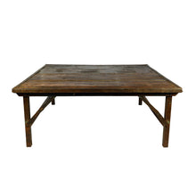 Load image into Gallery viewer, Iron Frame  Wedding Coffee Table, Natural