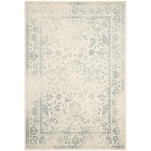 Load image into Gallery viewer, Adirondack Ivory/Slate 5' x 8' Area Rug #119R