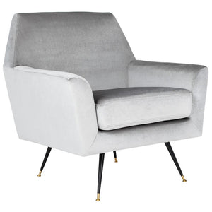 Nynette Light Gray Accent Chair 7428