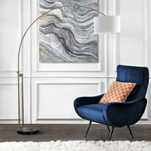"Load image into Gallery viewer, Polaris 84"" LED Arc Floor Lamp (#K2579)"