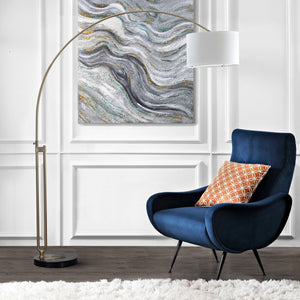 "Polaris 84"" LED Arc Floor Lamp (#K2579)"