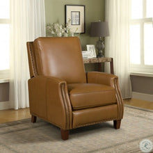 Load image into Gallery viewer, Barcalounger Melrose Shoreham Ponytail Leather Recliner
