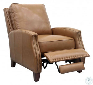 Barcalounger Melrose Shoreham Ponytail Leather Recliner