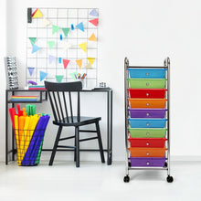 Load image into Gallery viewer, 10 Drawer Storage Chest, Multi-Color (#K2542)