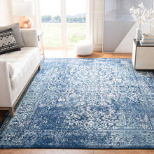 Load image into Gallery viewer, Evoke Navy/Ivory 10' x 14' Area Rug #123R