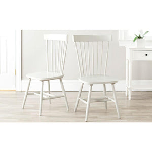 Riley Off-White Wood Dining Chair (Set of 2) 7423