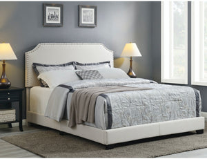 Kyara Upholstered Standard Bed - Queen (#536)
