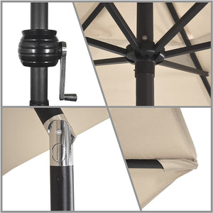 Antique Beige Astella 9' Patio Umbrella  Dr436