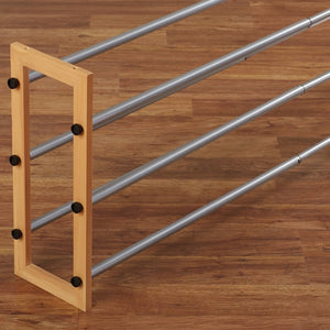 Expandable 3-Tier 15 Pair Stackable Shoe Rack  #SA644