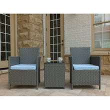 Load image into Gallery viewer, Pendergast 3-Piece Rattan Seating Group with Cushions  #SA770
