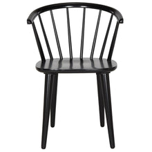 Load image into Gallery viewer, Blanchard Black Wood Dining Chairs (Set of 2)  #SA904