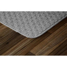 "Load image into Gallery viewer, 2 Piece Kitchen Mat Set, Silver - 30"" x 18"" + 40"" x 24"" (#K6476)"