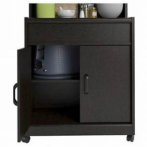 Cumberland Microwave Cart with Shelf 7329