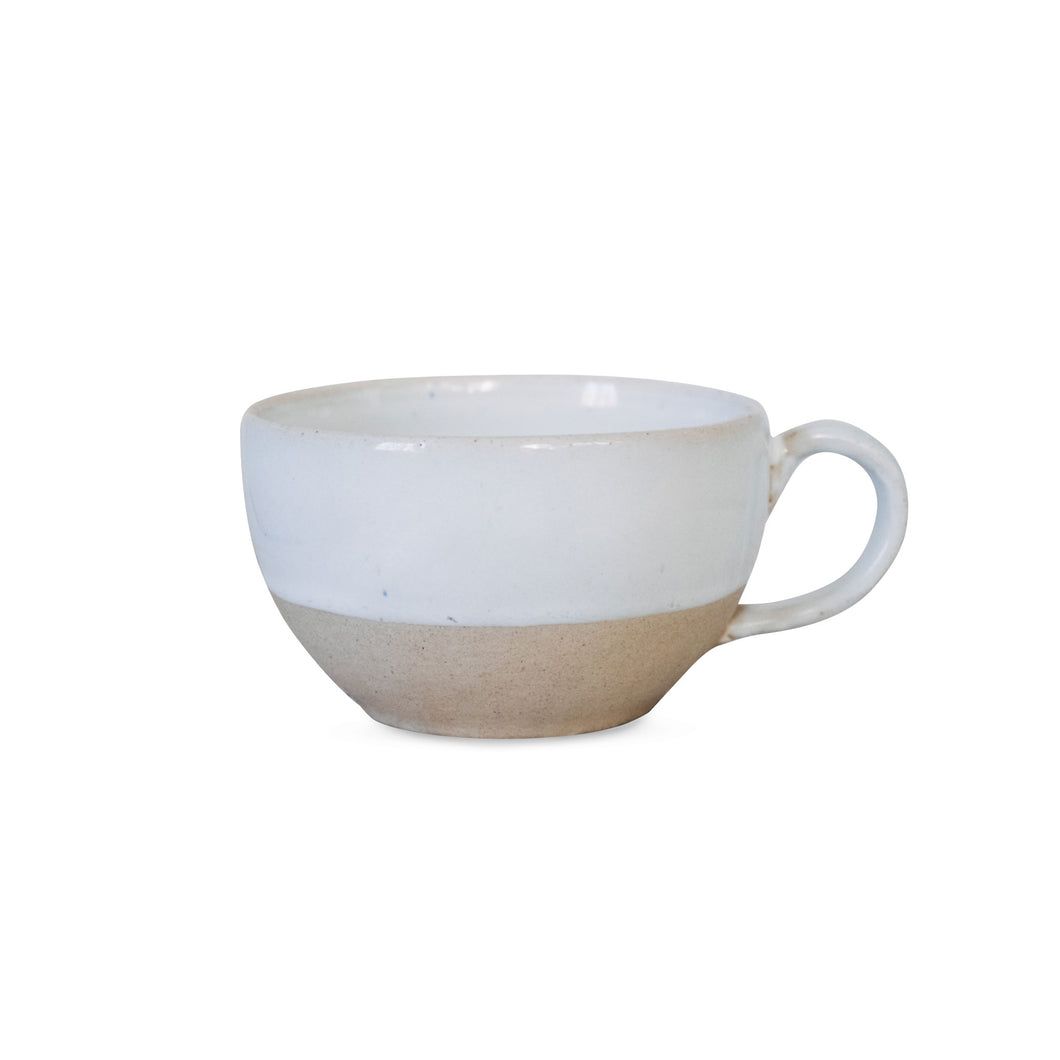Harvest Ceramic Tea Cup (White)