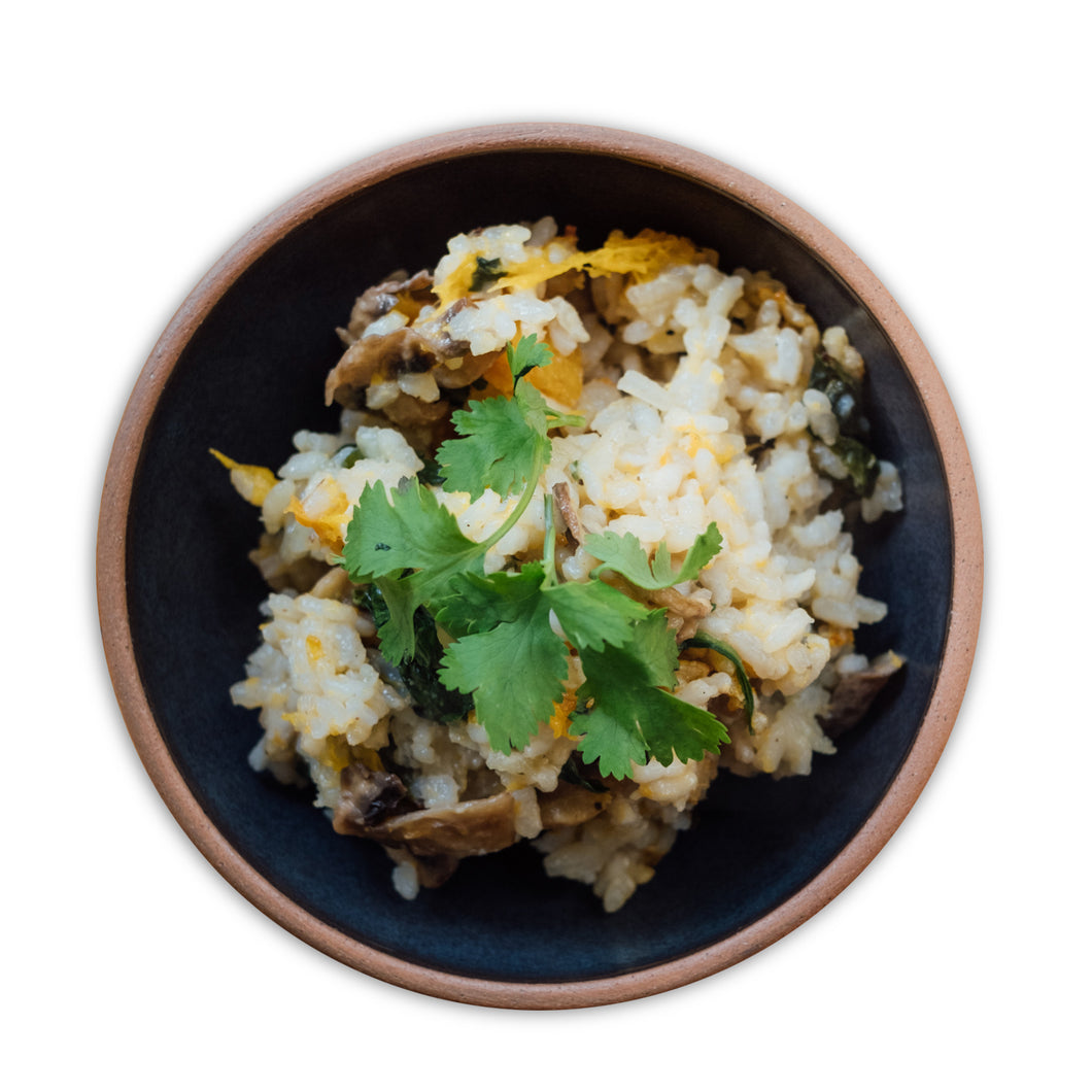 Mushroom & Butternut Risotto - Frozen Meal (Vegan)