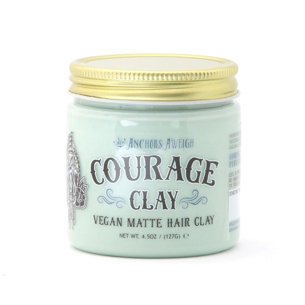 Anchors Courage Clay Vegan Matte Hair Clay