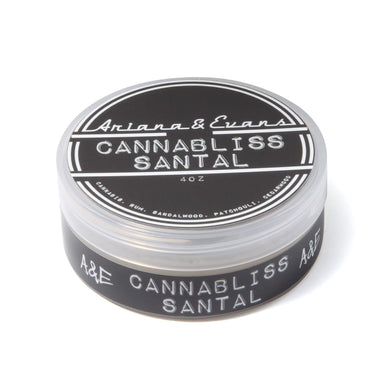 Ariana & Evans Cannabliss Santal Shaving Soap