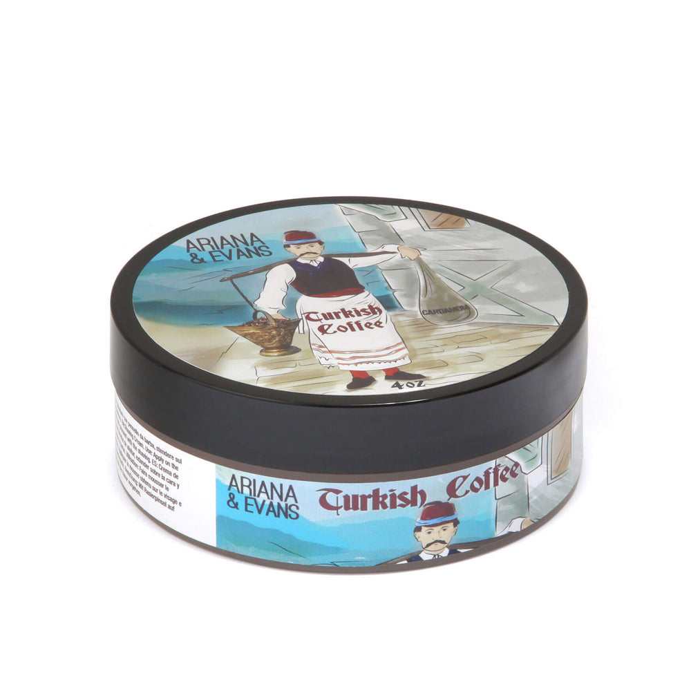Ariana & Evans Turkish Coffee Shaving Soap