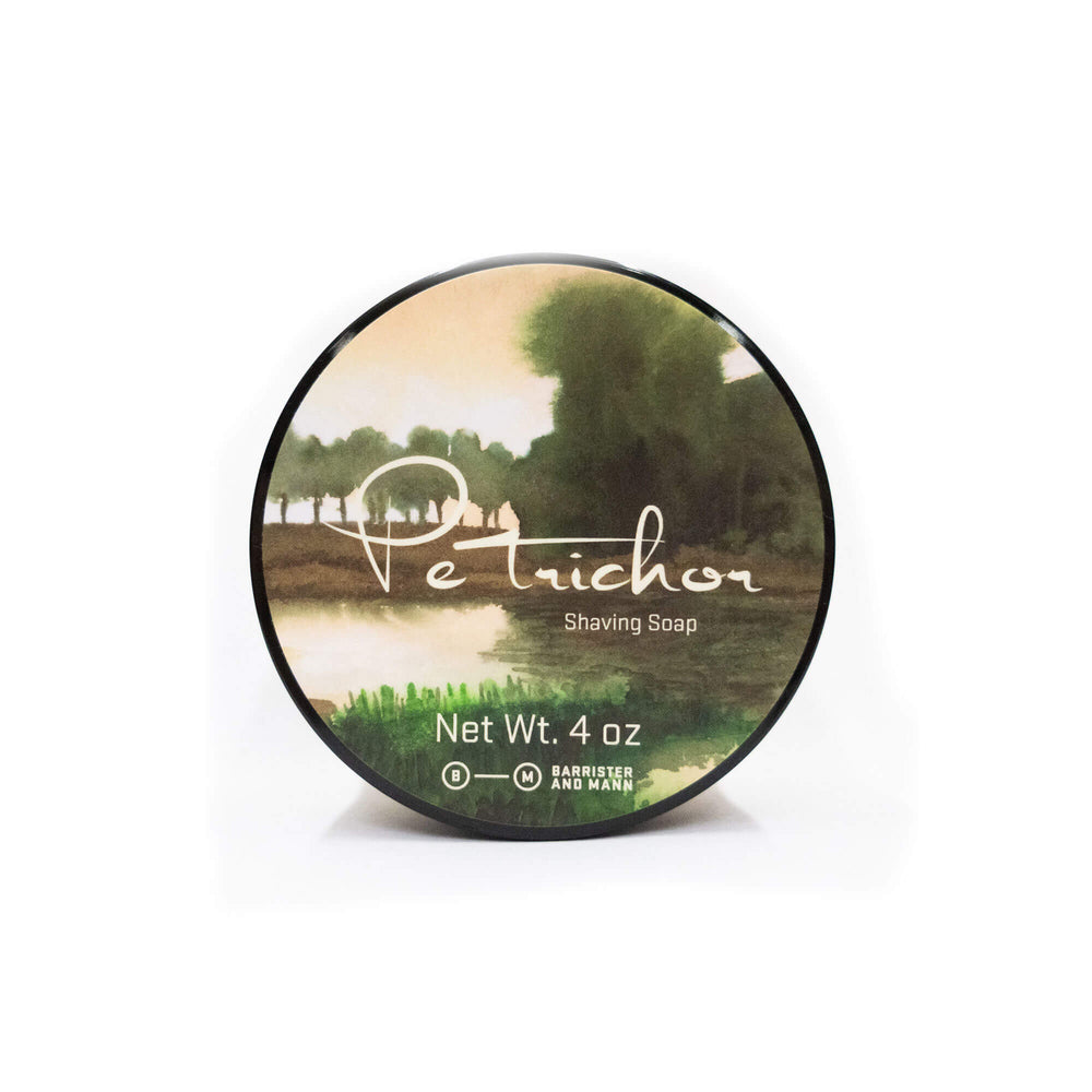 Barrister and Mann Petrichor Shaving Soap