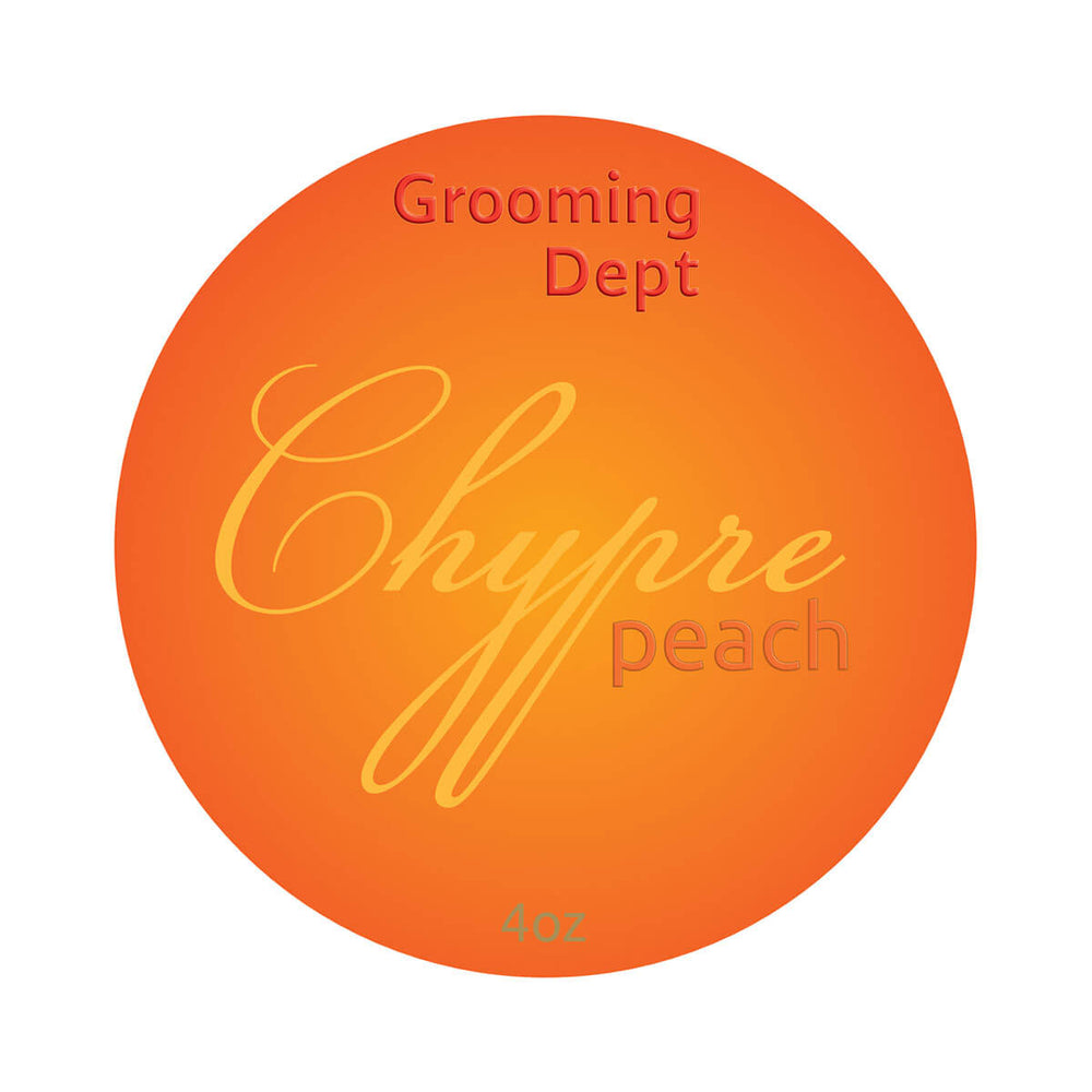 Grooming Dept Chypre Peach Shaving Soap