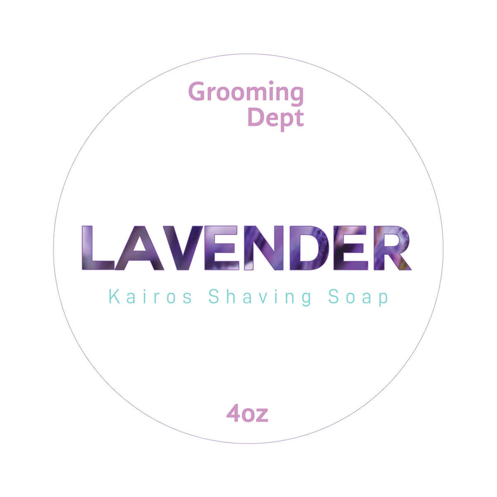 Grooming Dept Lavender Shaving Soap