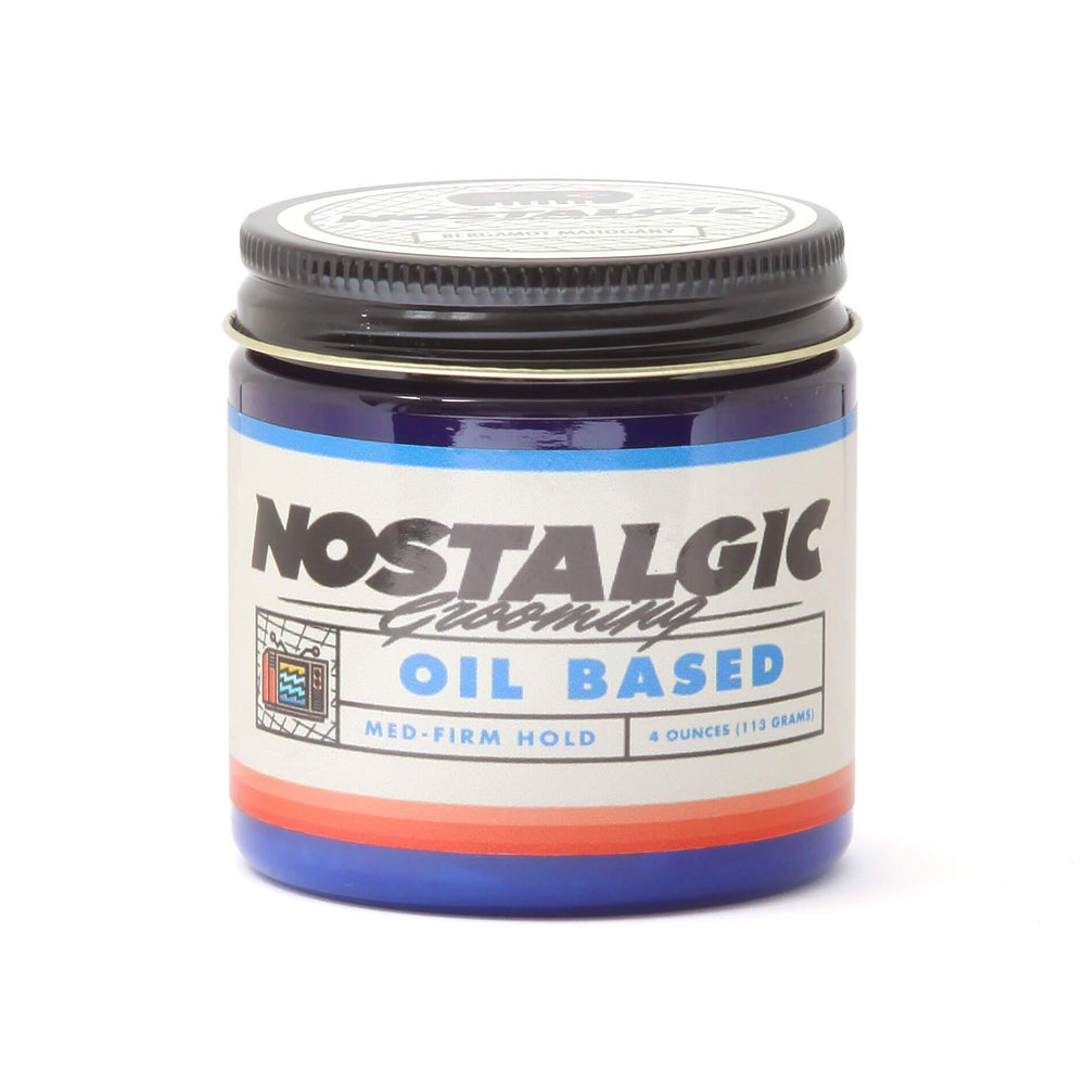 Nostalgic Grooming Med-Firm Oil Based Pomade