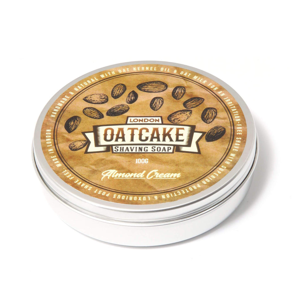 Oatcake Almond Cream Shaving Soap
