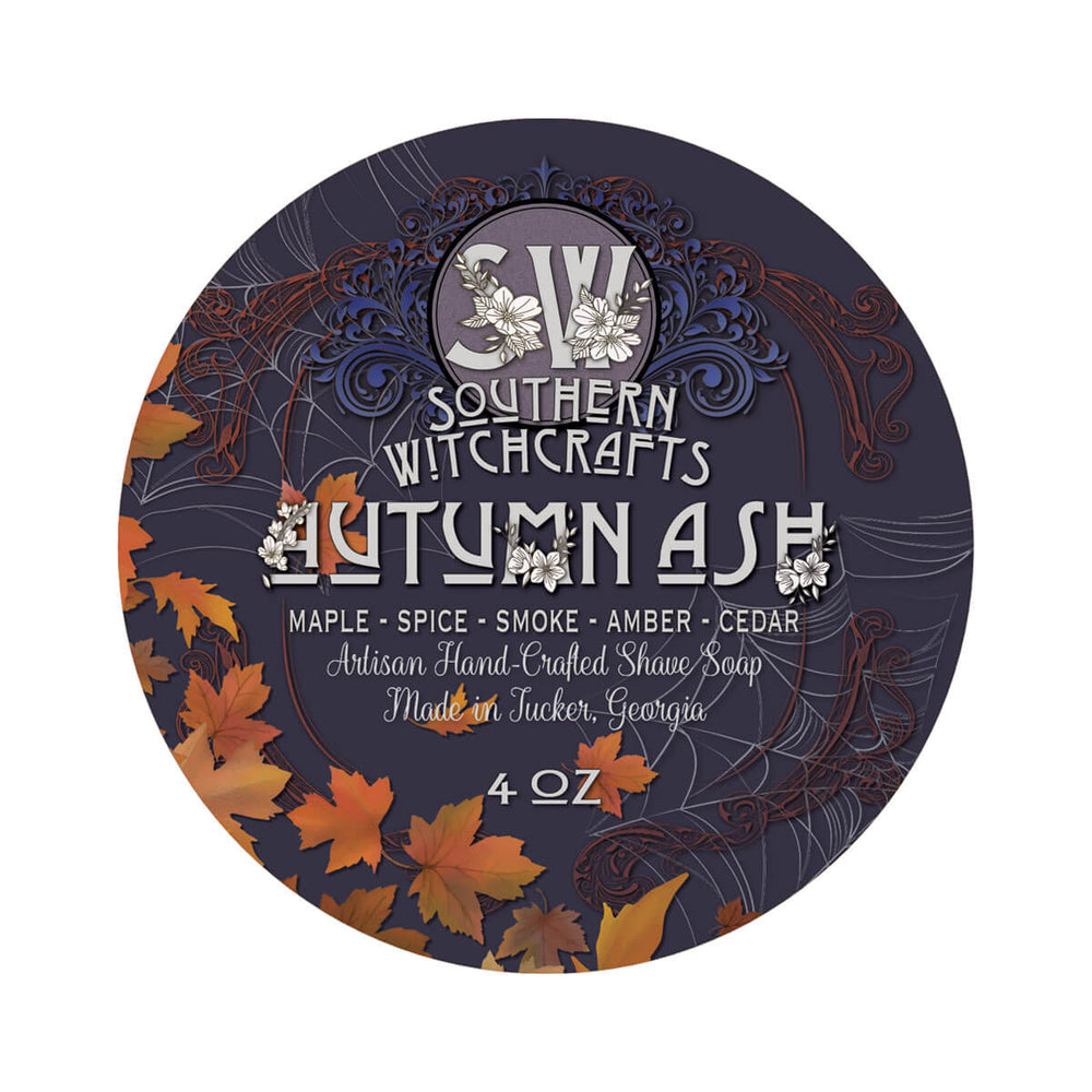 Southern Witchcrafts Autumn Ash Shaving Soap