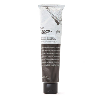 The Groomed Man Co Charcoal Body Scrub
