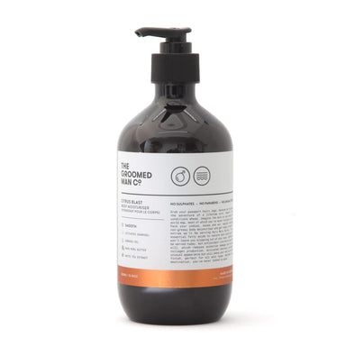 The Groomed Man Co Citrus Blast Body Wash