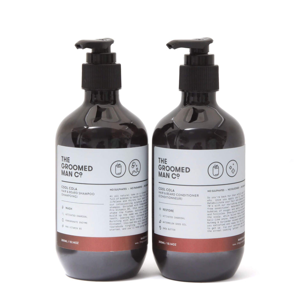 The Groomed Man Co Cool Cola Shampoo & Conditioner Duo