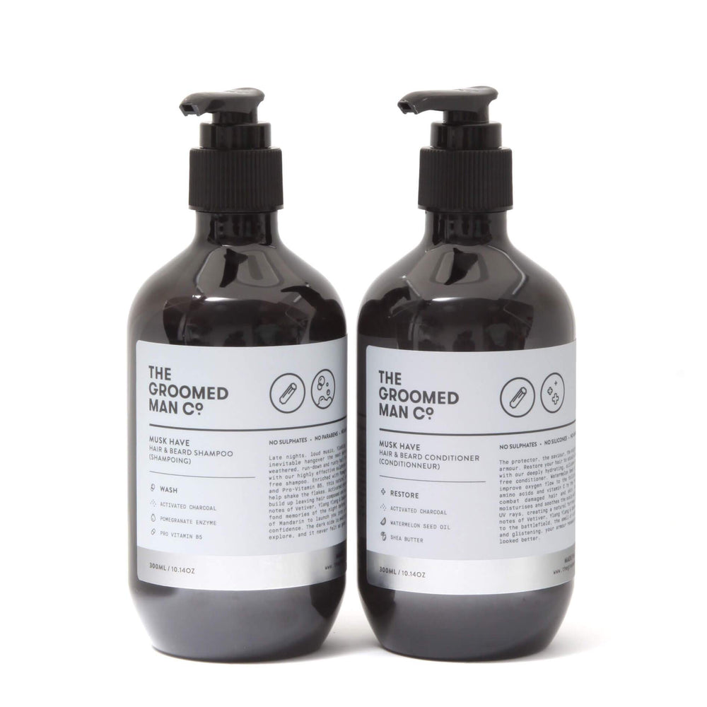 The Groomed Man Co Musk Have Shampoo & Conditioner Duo