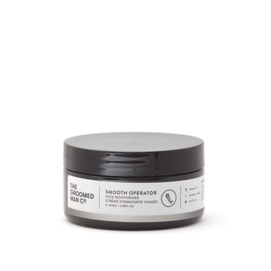 The Groomed Man Co Smooth Operator Face Moisturiser
