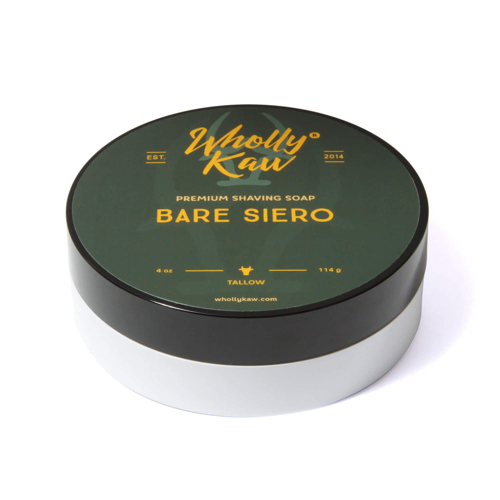 Wholly Kaw Bare Siero Shaving Soap