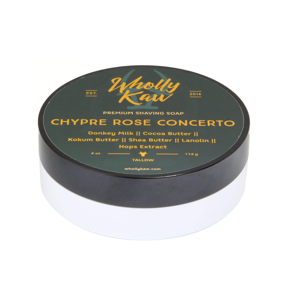 Wholly Kaw Chypre Rose Concerto Shaving Soap