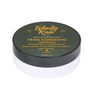 Wholly Kaw Fern Concerto Shaving Soap