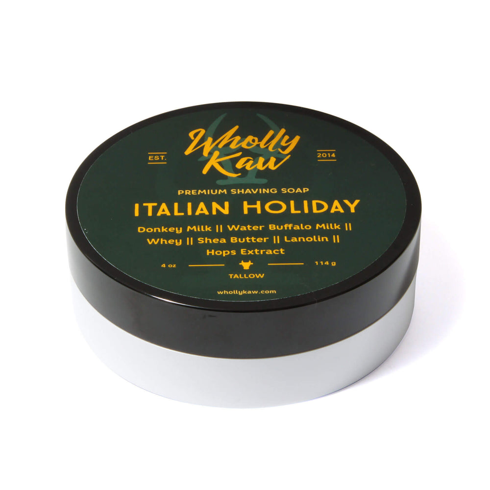 Wholly Kaw Italian Holiday Shaving Soap
