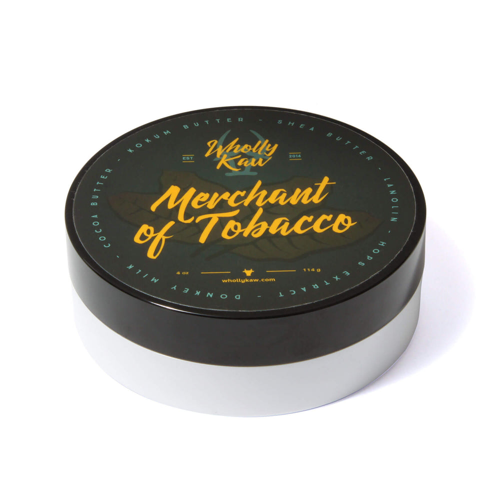 Wholly Kaw Merchant Of Tobacco Shaving Soap