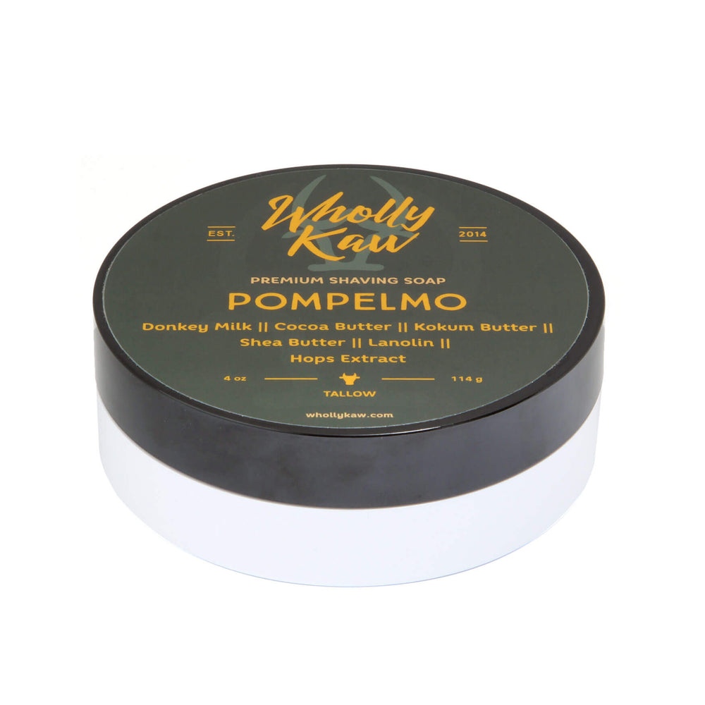 Wholly Kaw Pompelmo Shaving Soap