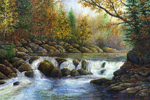 Blount Springs Splender Original Painting