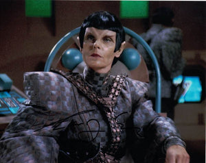"CAROLYN SEYMOUR -Commander Toreth TNG: ""Face of the Enemy"""