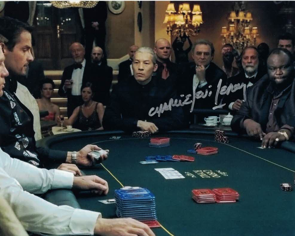 CHARLIE LEVI LEROY - Gallardo in Casino Royale (2006)