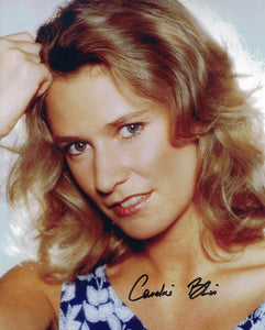 CAROLINE BLISS - Miss Moneypenny in The Living Daylights and Licence To Kill