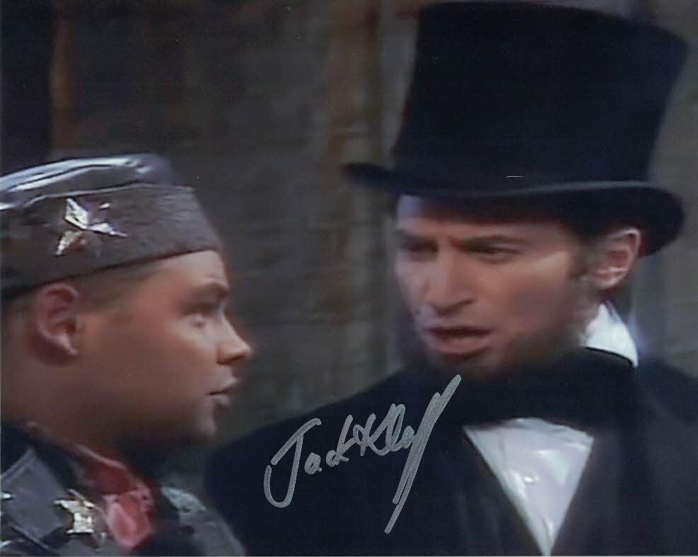 JACK KLAFF - Abraham Lincoln in Red Dwarf