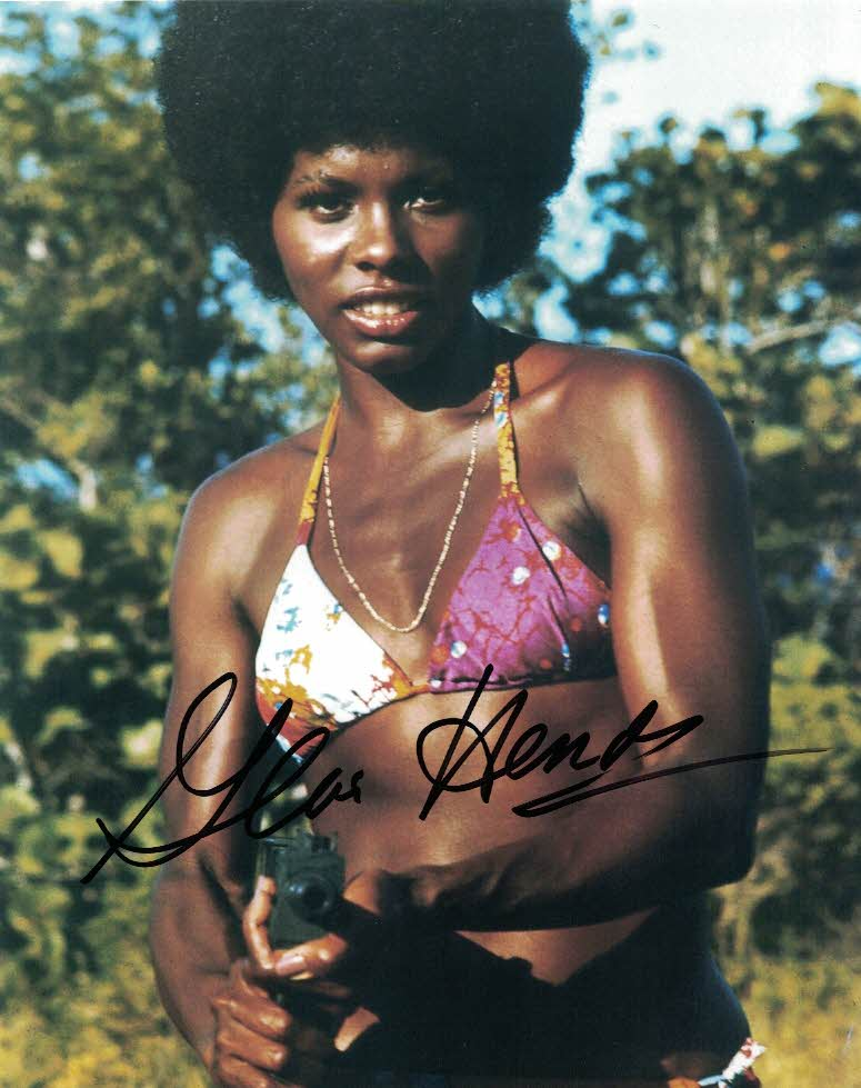 GLORIA HENDRY - Rosie Carver in Live and Let Die